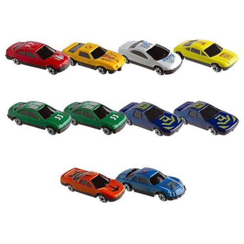 Die-Cast Race Cars, 10-pk