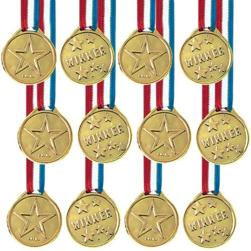 Award Medals, 12-pk