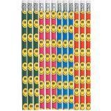 Smiley Pencils, 12-pk | Amscannull