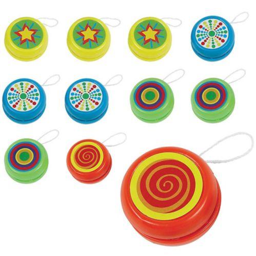 Yo-yo imprimés, paq. 20