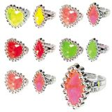 Gemstone Rings, 84-pk