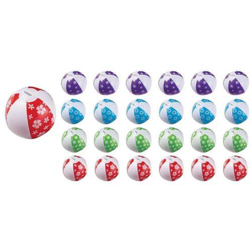 Inflatable Beach Balls, 24-pk