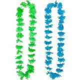 Colliers à motif floral vif, paq. 6