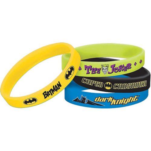 Batman Bracelets, 4-pk