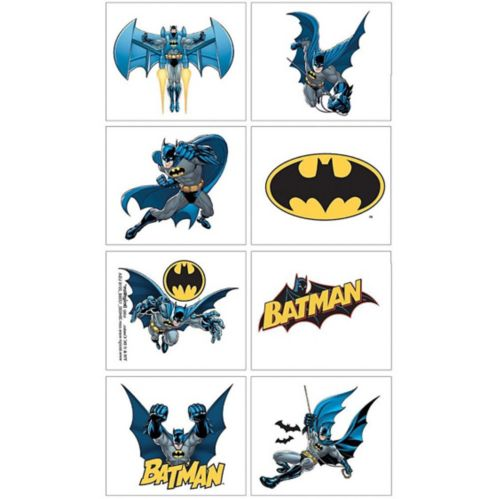 Tatouages Batman, 1feuille