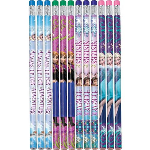 Crayons La Reine des neiges, paq. 12 Image de l'article