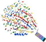 Bombes de table à gros confettis, paq. 3