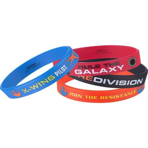 Bracelets Star Wars 7 Le Réveil de la Force, paq. 4