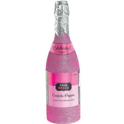 Team Bride Bottle Confetti Popper