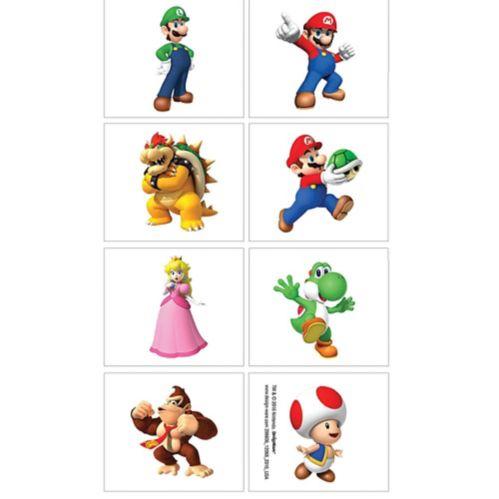 Super Mario Tattoos, 1-Sheet Product image