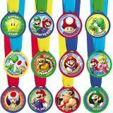 Médailles de mérite Super Mario, paq. 12