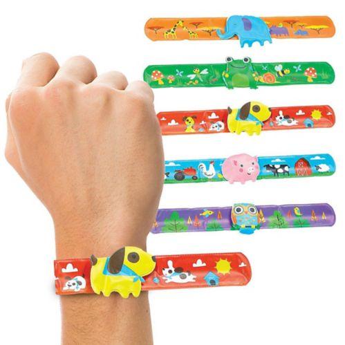 Bracelets enroulés Animaux, paq. 6 Image de l'article