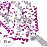 Bombes de table à confettis Dévoilement du sexe de bébé, paq. 12   Amscannull