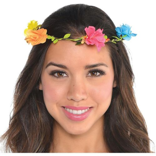 Bright Floral Headwreath