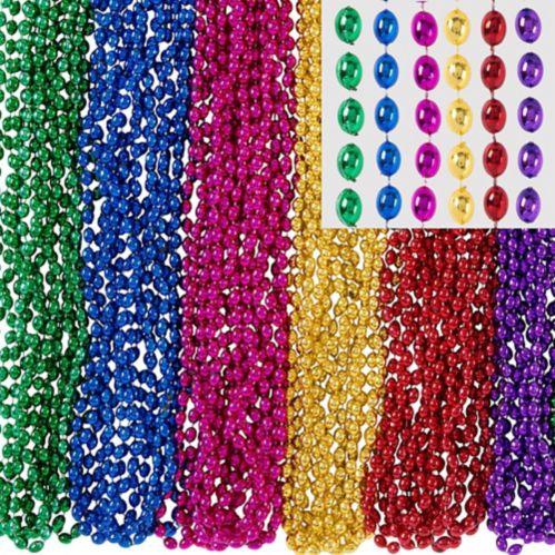 Bead Necklaces, 100-pk
