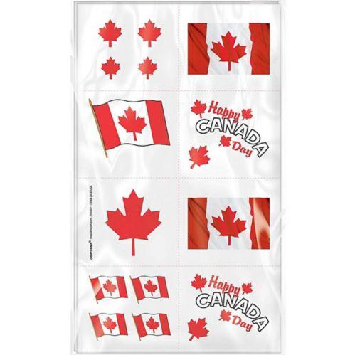 Canada Day Tattoos, 1 Sheet