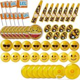 Smiley Favour Pack, 48-pc