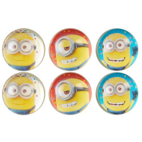 Minions Bounce Balls, 6-pk