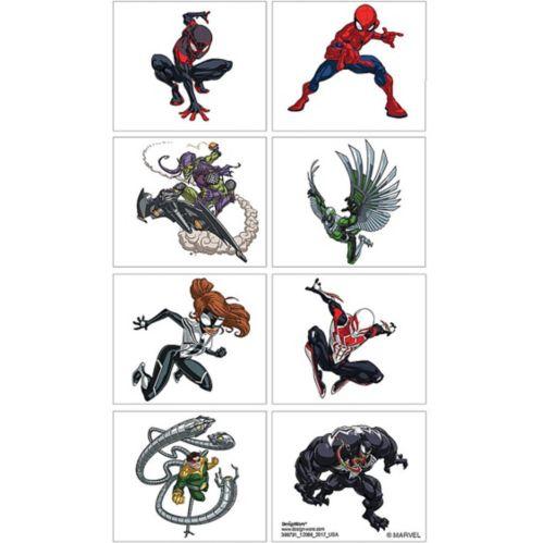 Tatouages Spider-Man Webbed Wonder, 1feuille