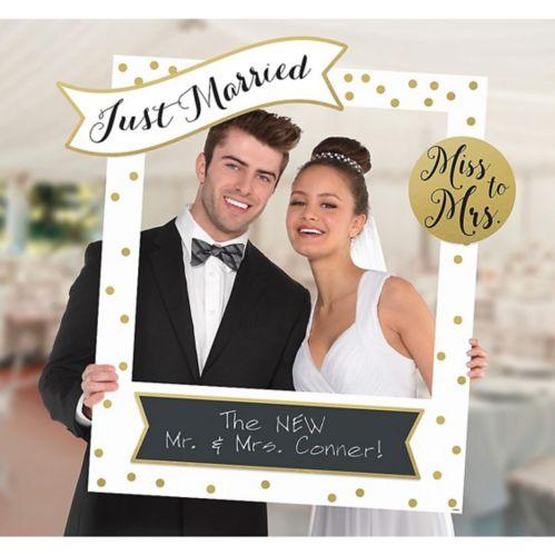 Cadre pour photo de mariage à personnaliser géant