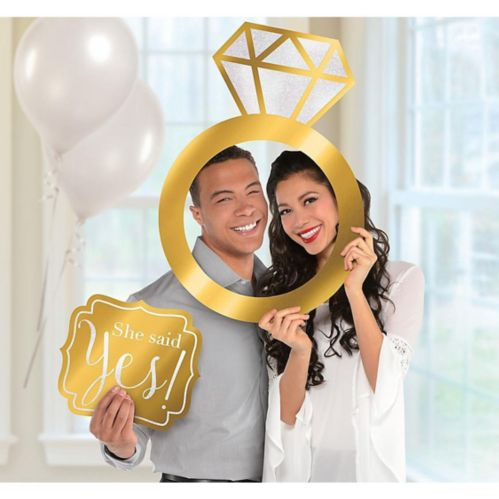 Engagement Photo Booth Frame Kit, 2-pc