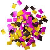 Bouteille de champagne de confettis à paillettes rose