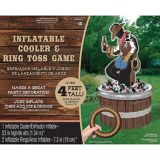 Inflatable Ring Toss Cowboy Cooler