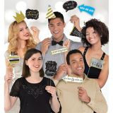 Sparkling Celebration Birthday Photo Booth Props, 13-pc