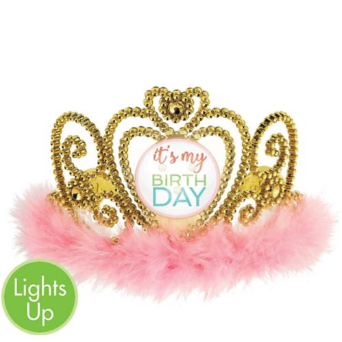 Light-Up Confetti Fun Birthday Tiara