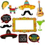 Jumbo Fiesta Photo Booth Props, 12-pk