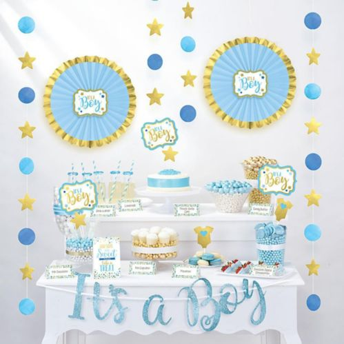 It's a Baby Shower Treat Table Decorating Kit, 23-pc
