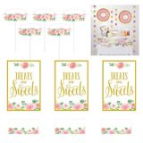 Floral Baby Shower Treat Table Decorating Kit, 23-pc