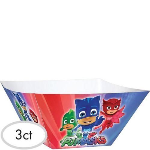 PJ Masks Serving Bowls, 3-pk