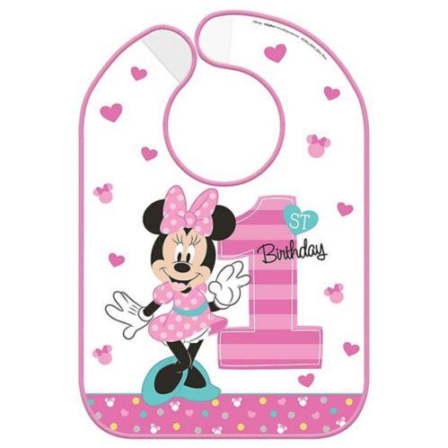 Bavette 1eranniversaire Minnie Mouse Image de l'article