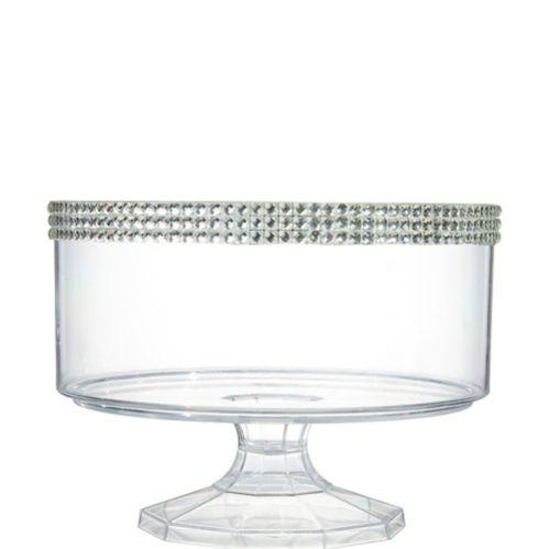 Petit bol à bagatelle en plastique transparent avec pierres Image de l'article