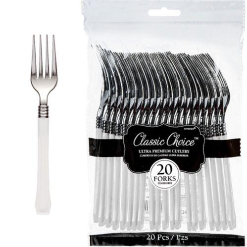 Classic Premium Plastic Forks, 20-pk Product image
