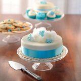 Petit présentoir à gâteaux en plastique transparent | Amscannull