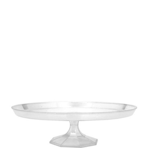 Medium Clear Plastic Cake Stand Product image