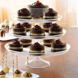 Medium Clear Plastic Cake Stand | Amscannull