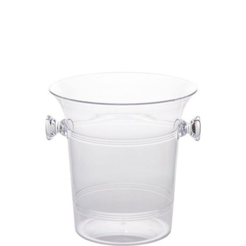 Clear Plastic Ice Bucket Product image