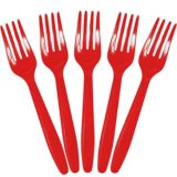 Red Fork Value Pack | Amscannull