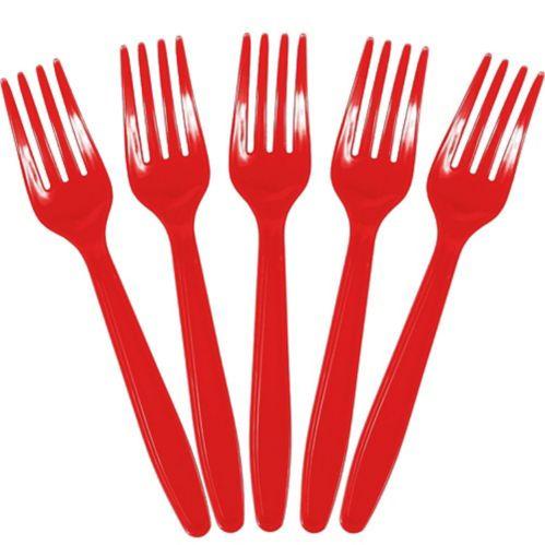 Fourchettes rouges, paquet économique Image de l'article