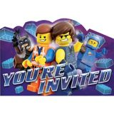 The LEGO Movie 2: The Second Part Invitations, 8-pk