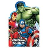 Avengers Invitations, 8-pk | Marvelnull