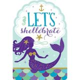Wishful Mermaid Invitations, 8-pk