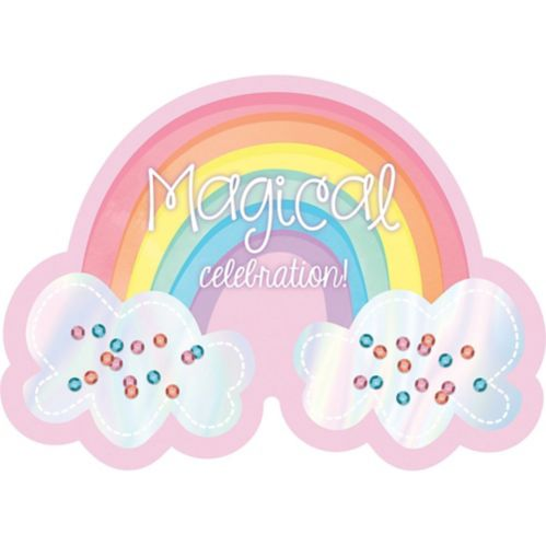 Magical Rainbow Invitations, 8-pk