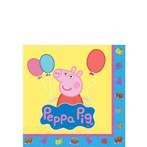Peppa Pig Beverage Napkins, 16-pk