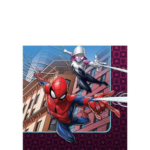 Spider-Man Webbed Wonder Beverage Napkins, 16-pk