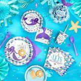 Wishful Mermaid Beverage Napkins, 16-pk | Amscannull
