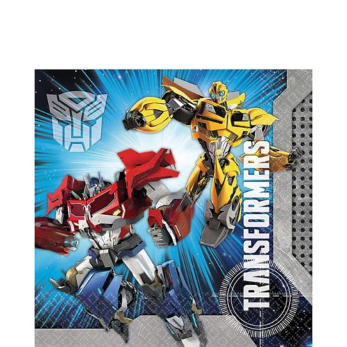 Transformers Lunch Napkins, 16-pk